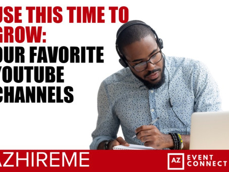 Use This Time to Grow: Our Favorite YouTube Channels