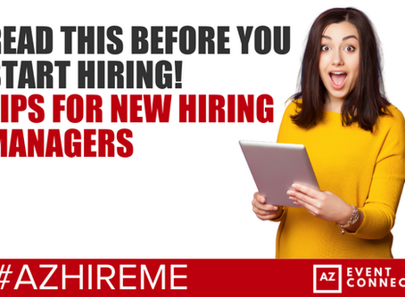 Tips for new hiring managers