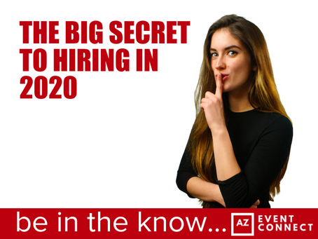 The Big secret to hiring in 2020