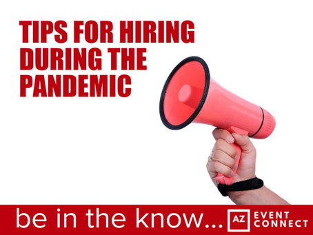 ​Tips for hiring during the pandemic