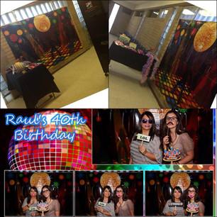 Raul's Disco Birthday Party!