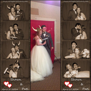 Congratulations to the newlyweds Pati and Shawn!!