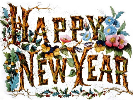 Here is to a new year for all of us...