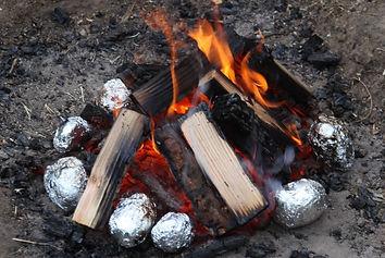 potatoes in foil fire.jpg