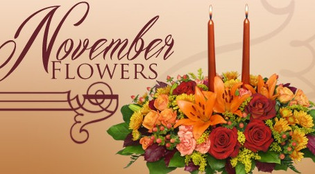 Flowers for November