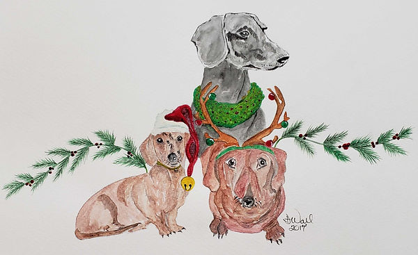 My Doxies watercolor 2017.jpg