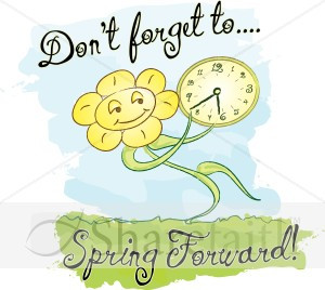 13 days until we spring forward