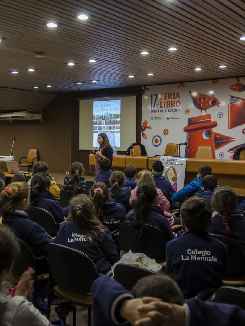 Feria del libro 2017. IMM