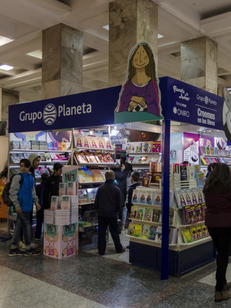 Feria del Libro 2017 Atrio IMM