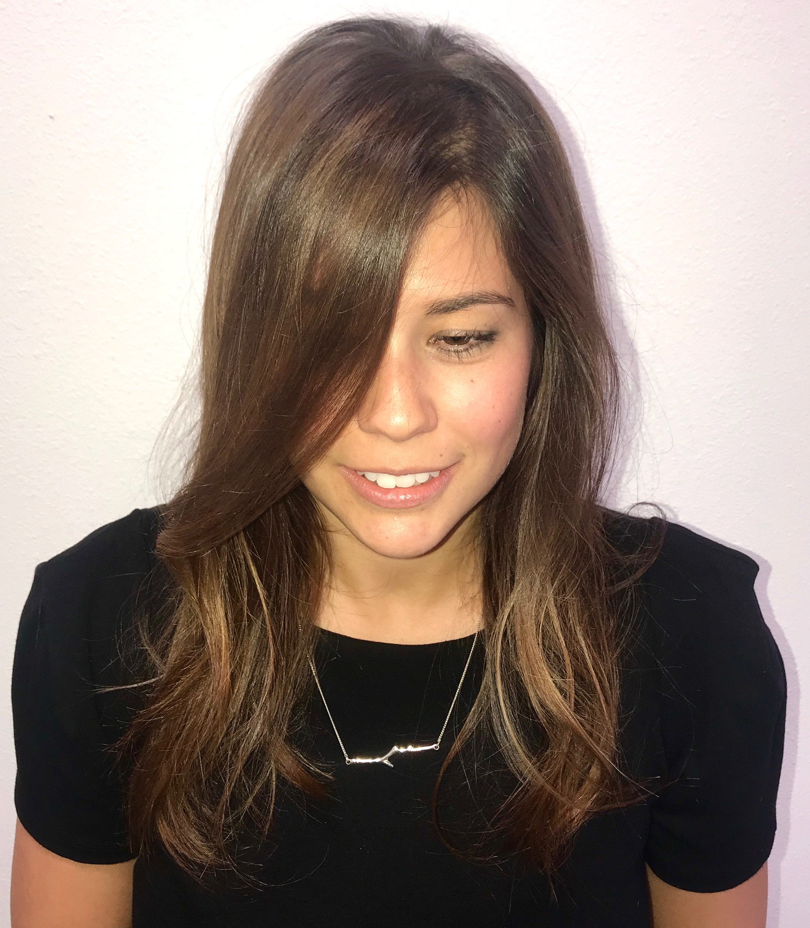 Subtle sun-kissed balayage