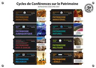 Conférences Patrimoine immatériel... demandez le programme !