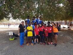 Benjamines et Minimes garçons de l'ISJA en finales Hand Ball du championnat UNSS du Sénégal