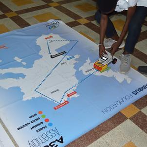 Workshop Air Sénégal / Airbus : assembler un avion et le programmer