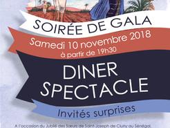 Jubilé des Soeurs de Cluny : Grande soirée de gala à l'Institution