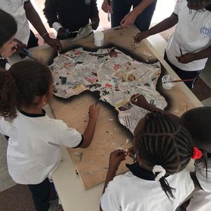 Les élèves de CE1a rencontrent Aurélie Dussossoy