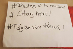 #ToglenSenKeur #RestezALaMaison #StayAtHome par Khadimatou, Aymane, Ibrahim et Ngoné - 1ères GB