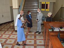 Le primaire reçoit M. Houdoin et Mme Varo pour une petite visite de courtoisie