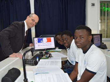 L'ISJA reçoit le ministre français de l'Education Nationale, Monsieur Jean-Michel Blanquer