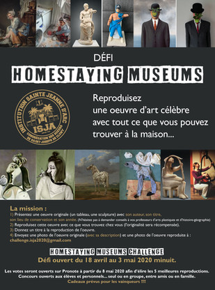 HOMESTAYING MUSEUMS CHALLENGE : c'est à vous de voter !
