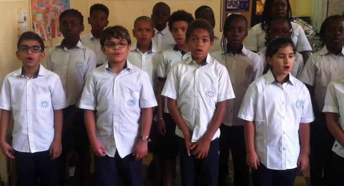 ISJA - DKR - La chorale des enfants 2016/2017 - 1/3