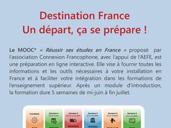 MOOC : préparer et réussir ses études en France