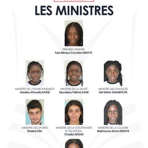 Gouvernement scolaire : le premier ministre, les ministres, tous les détails...