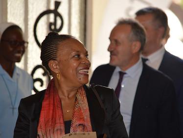L'ISJA reçoit l'ancienne ministre de la Justice et Garde des Sceaux : Christiane Taubira