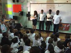 Lecture à voix haute : les CM2 racontent des histoires aux plus petits