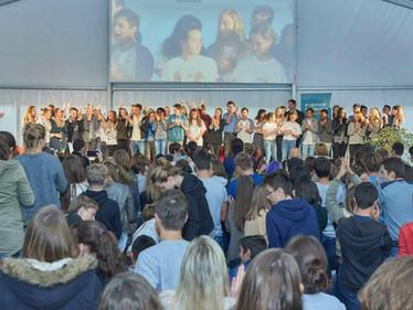 Le lycée international Saint-Joseph du Havre invite les lycéens de l'ISJA au Normandy International