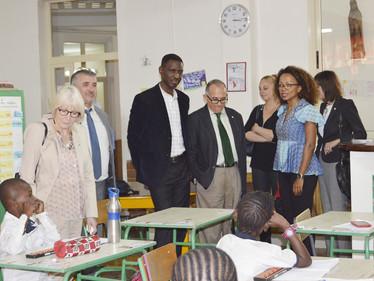 La sénatrice des français établis hors de France, Madame Claudine Lepage, rend visite à l'Instit