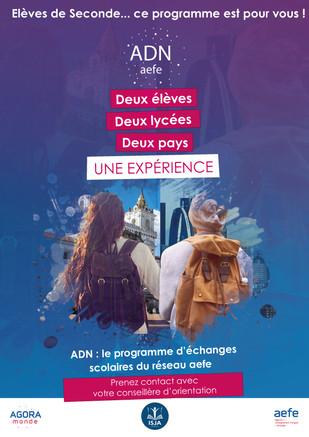 Programme d'échange scolaire ADN-AEFE : une expérience unique.
