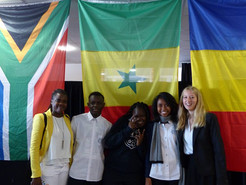 Nos lycéens au Normandy International Youth Leadership Summit du Havre (France)