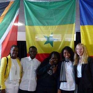 Nos lycéens au Normandy International Youth Leadership Summit du Havre (France)