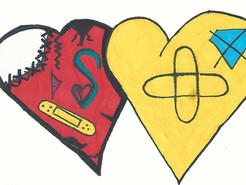 Les 4èmes D de Mme Malou vous souhaitent une belle Saint-Valentin !