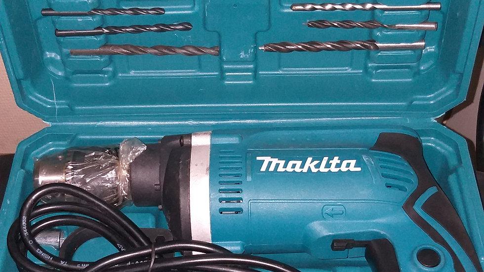 Дрель ударная Makita HP1630 К (набор в кейсе)