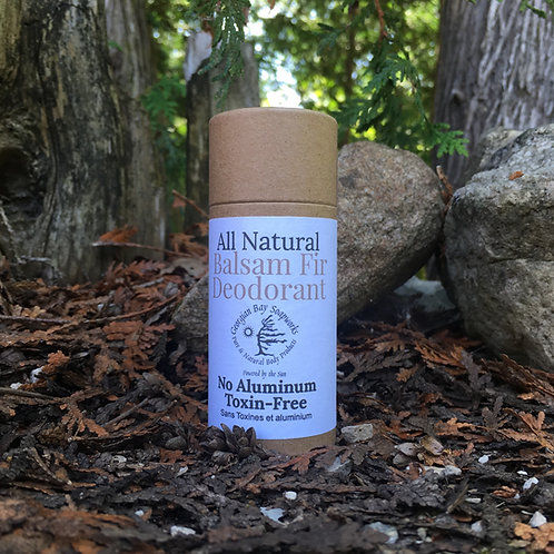 Balsam Fir Natural Deodorant
