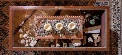 Reflections of a coffee table