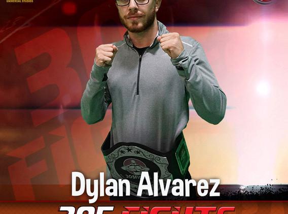 Dylan Alvarez 125LBS Champion