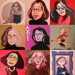 #cartoon #farewell #party #thankyou all for 9 amazing years !_#art #portrait #caricature #artoflife
