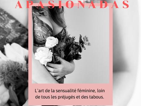 Shooting chic boudoir - Apasionadas / REPORTÉ SUITE AU COVID-19