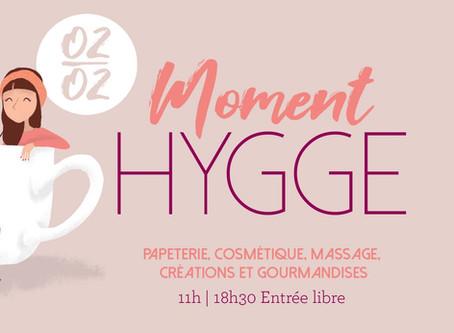 """Évènement """"Moment HYGGE"""" chez YLLE"""