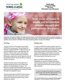 PTATC 2020 Donation & Sponsorship Detail