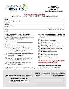 PTATC 2020 Donation & Sponsorship Info24