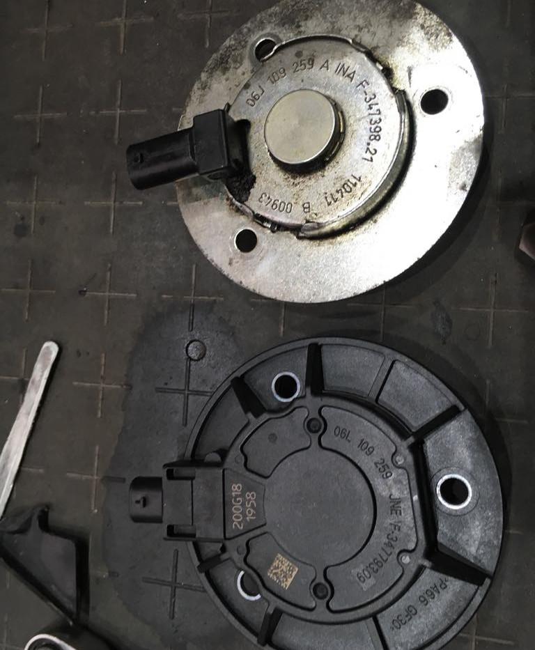 Netesný elektromagnet vačkového hriadeľa Audi A4