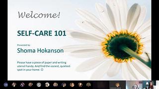 Self-Care 101 Highlights