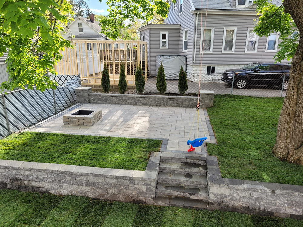 Masonry Ideas: 6 Retaining Wall Options for Sloped Backyards in Swampscott and Weston, MA