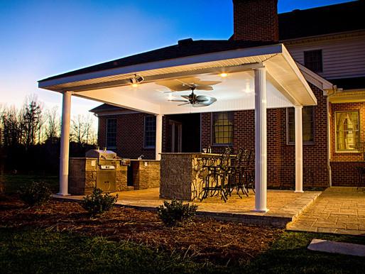 Outdoor Lighting Ideas: Choosing Landscape Design That Looks Good at Night in Mecklenburg County, VA