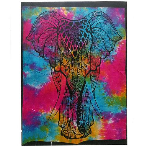 Elephant Cotton Wall Art