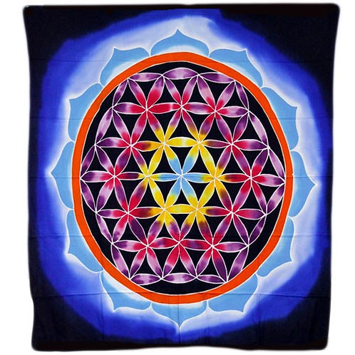 Flower of Life Wall Hanging 107x103cm