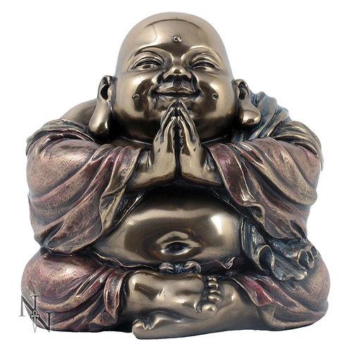 Bronze Abundance Buddha